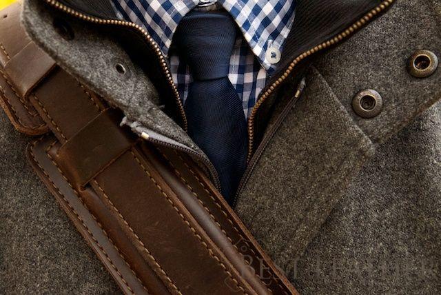 Saddelback Leather Shoulder strap