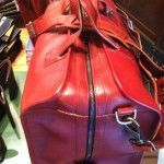 Jack Spade Red Leather Duffel - $1295