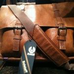 Belestaff Brown Leather Messenger Bag - $800