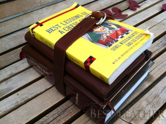 Saddleback Leather Utility Straps Use Book Carry