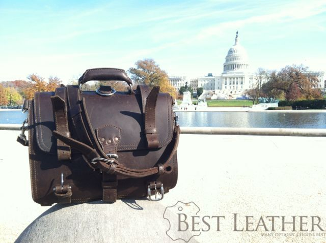 Saddleback Leather Large Classic Briefcase at US Capitol