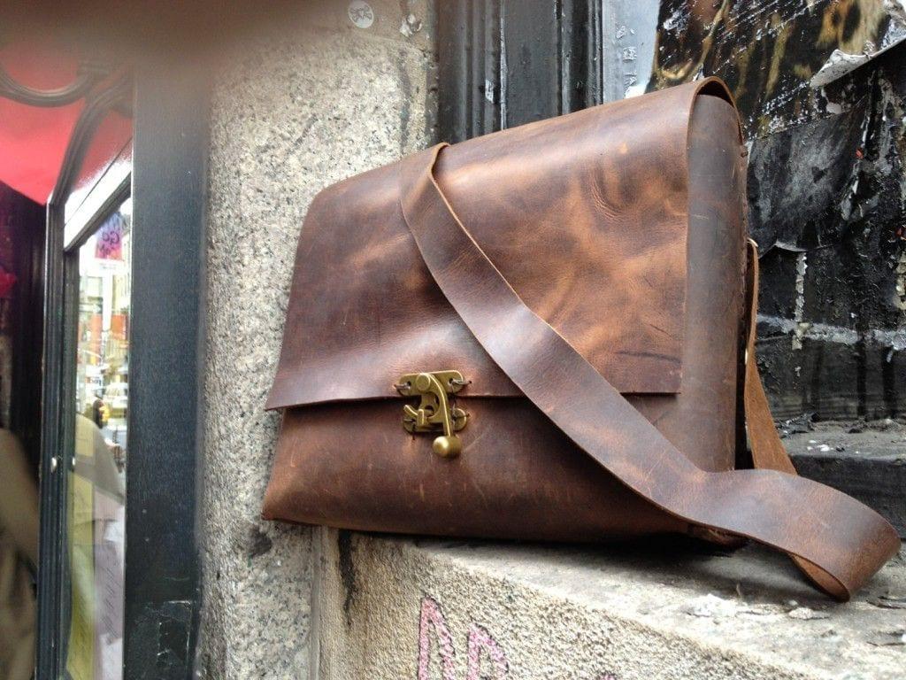 luscious leather leather satchel bag