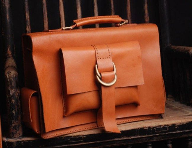 perfect moment with you leather messenger bag