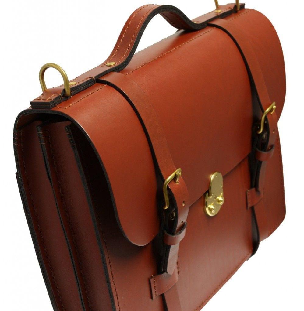 william james 256 leather briefcase