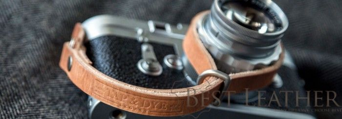 Tap & Dye Camera Leather Wrist Strap11