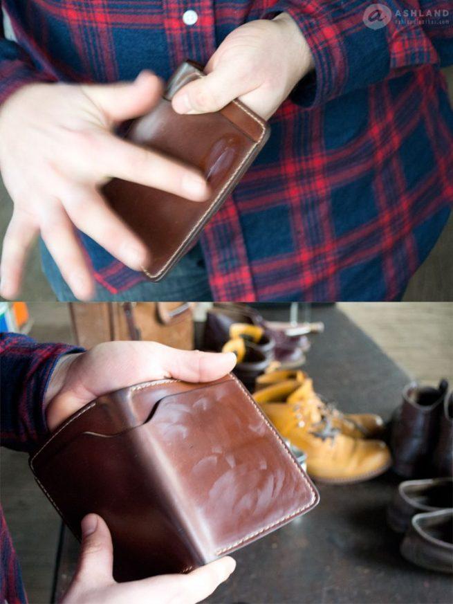 6Ashland Leather Co - Polishing shell cordovan Fat Herbie - Venetian cream 1