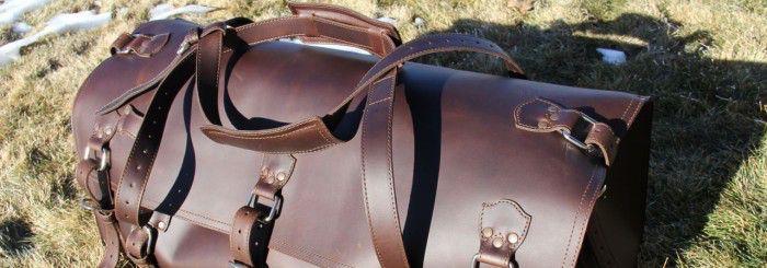Saddleback Leather Beast Duffel Bag Header Photo1