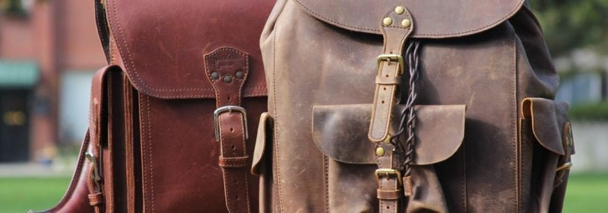 "Saddleback Leather ""Tank"" Backpack vs Marlondo Leather Backpack Review cba67ba1d9680"