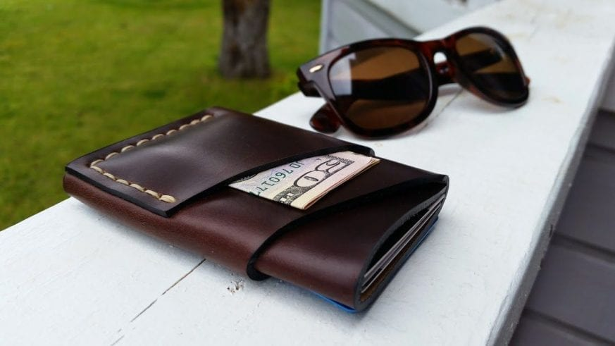 The Port Wallet in Horween's Chromexcel