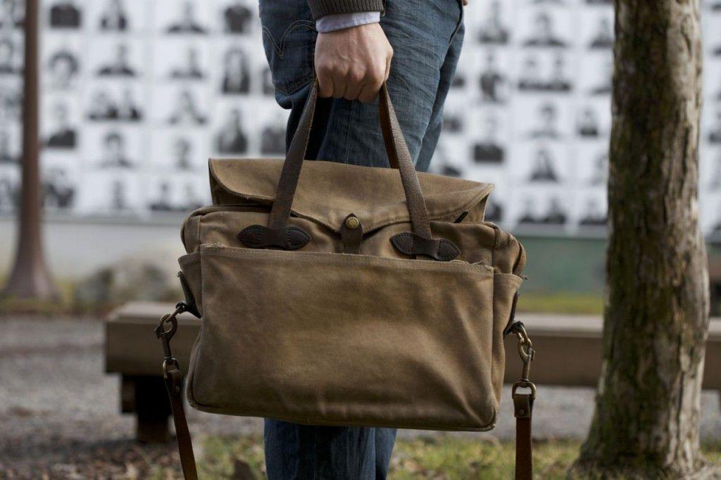A Vintage Filson Briefcase Computer Bag Review