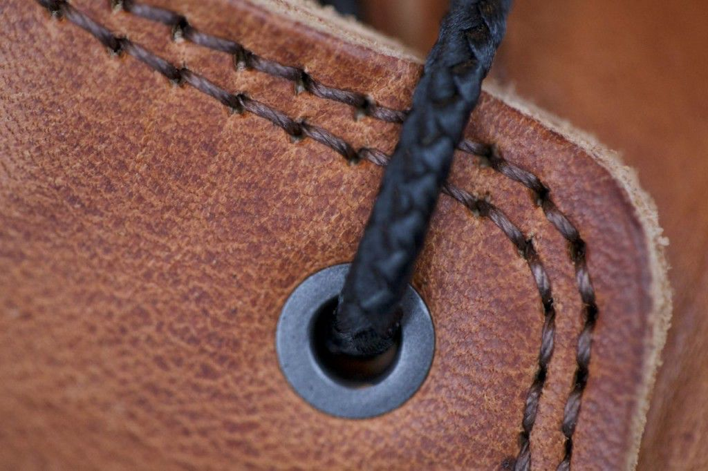 Double stitching and braided nylon laces make these boots tough and useable in many situations.