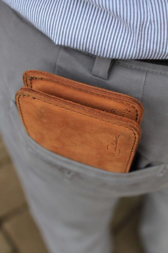Saddleback Leather Bifold Wallet Tobacco Review 306