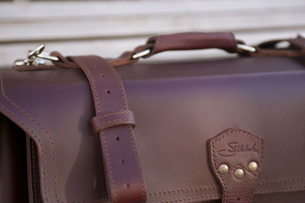 Saddleback Leather Side Pocket Duffel Review04
