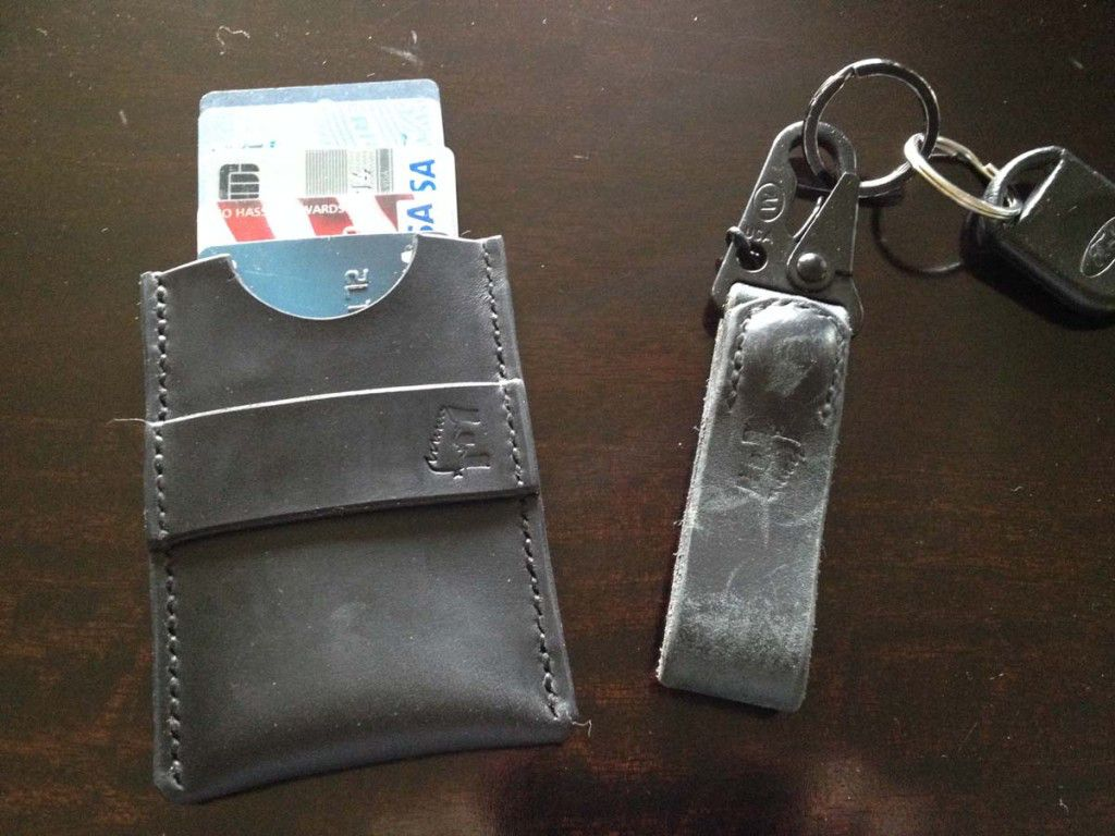 Minimalist Wallet and Survival Clip