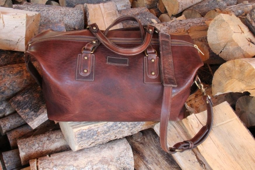 Coronado Leather Large Duffel03