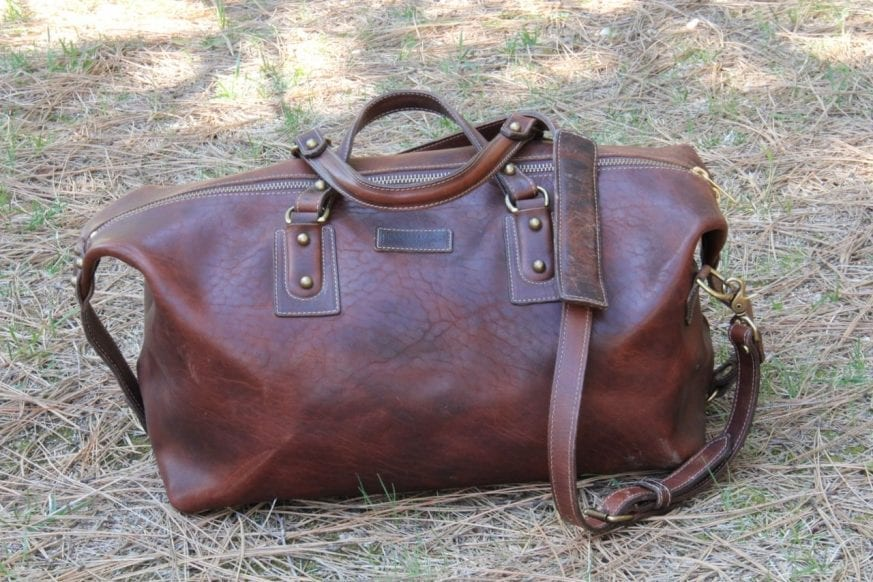Coronado Leather Large Duffel07