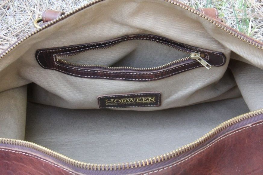 Coronado Leather Large Duffel10