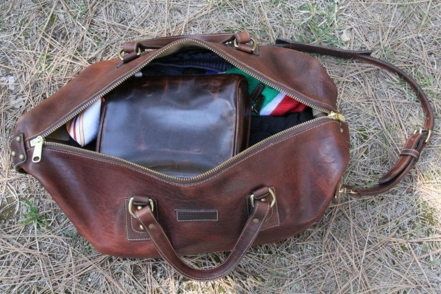 Coronado Leather Large Duffel12