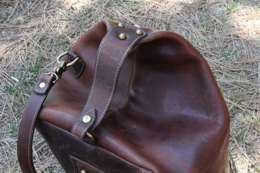 Coronado Leather Large Duffel15