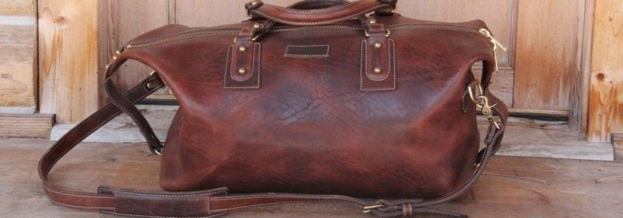 Coronado Leather Americana Large Duffel Bag 799