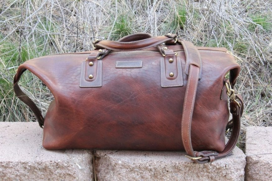 Coronado Leather Large Duffel19