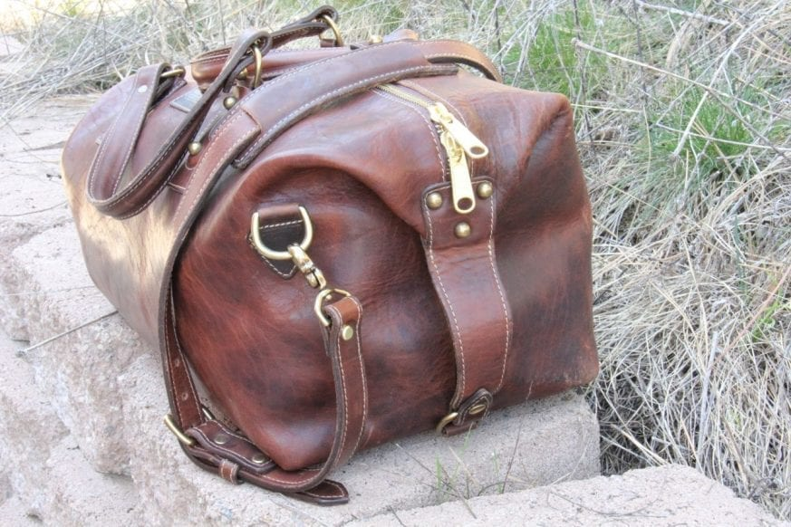 Coronado Leather Large Duffel24