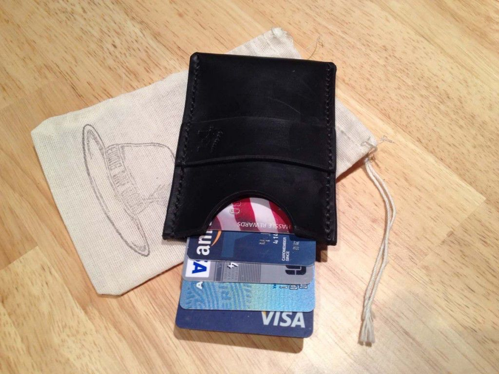 Ewing Minimalist Wallet  With Cards