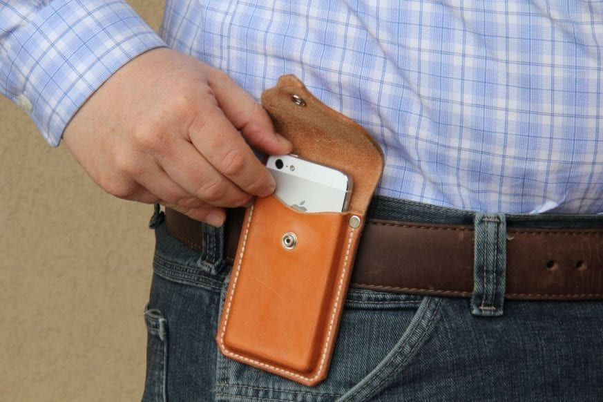 Gfeller Casemakers Iphone 5 Holster1