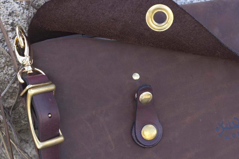 Leather Shop MacBook Case Buckle