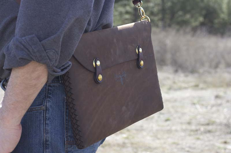 Leather Shop MacBook Case