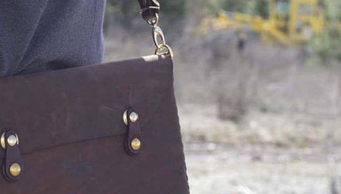 Leather Shop MacBook Case