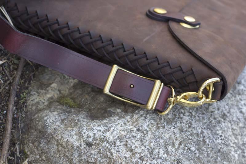 Leather Shop MacBook Case Weave