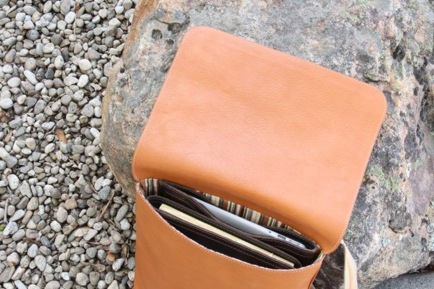 Piero Tucci Leather Messenger10