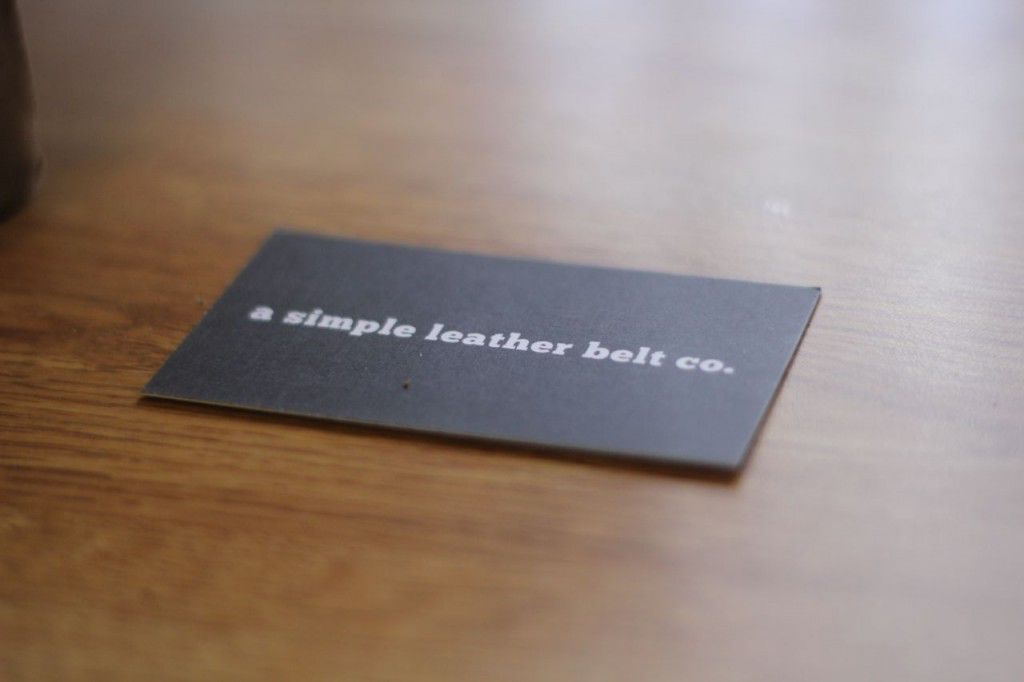 a simple leather belt giveaway6