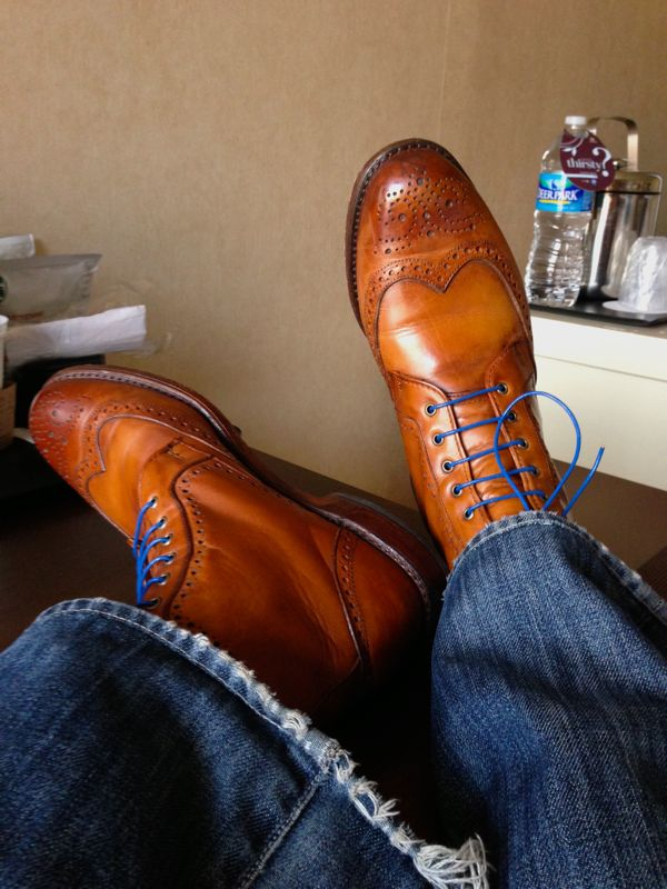 Allen Edmonds Dalton Wingtip Dress Boots Review 395