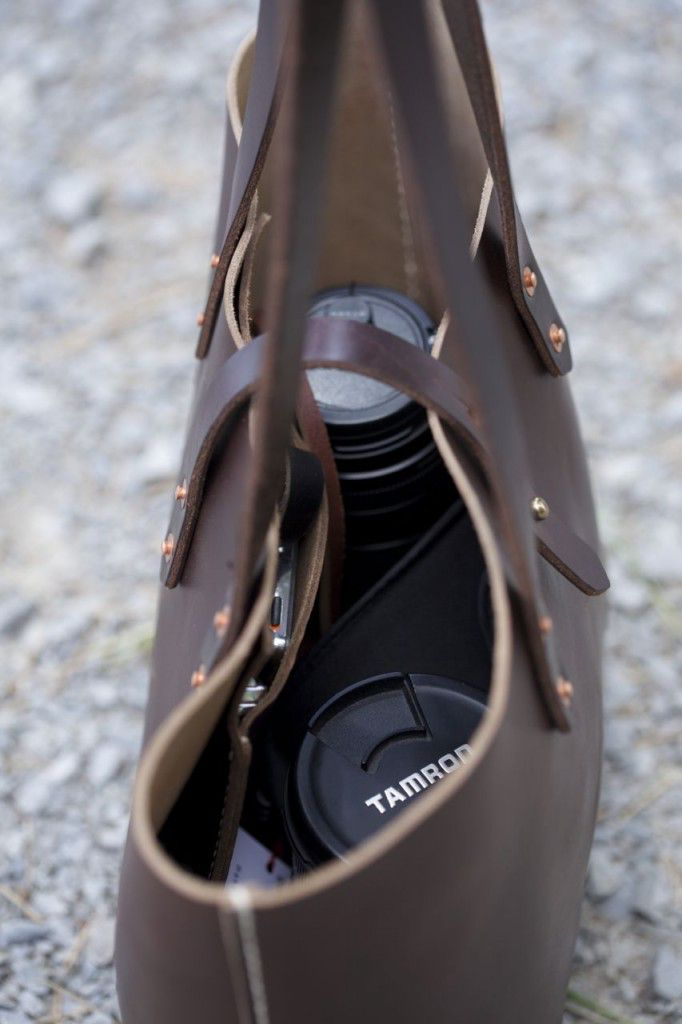 Koch Leather Tote Review3