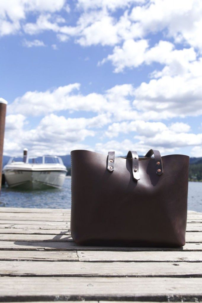 Koch Leather Tote Review7