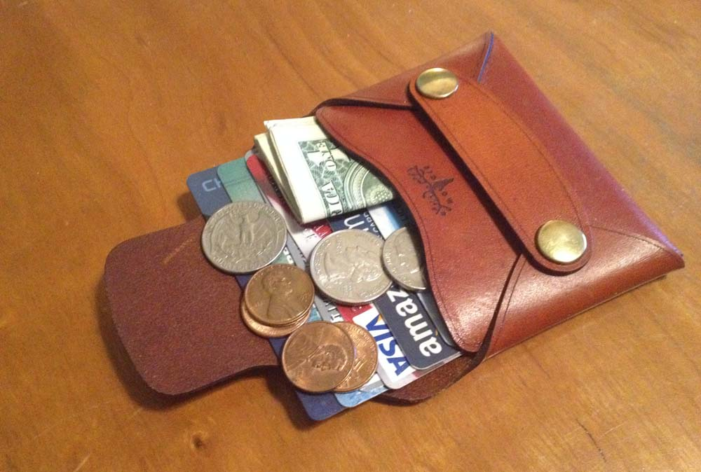 a full rivet wallet