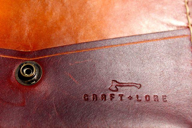 Craft & Lore Pilgrim Wallet 2