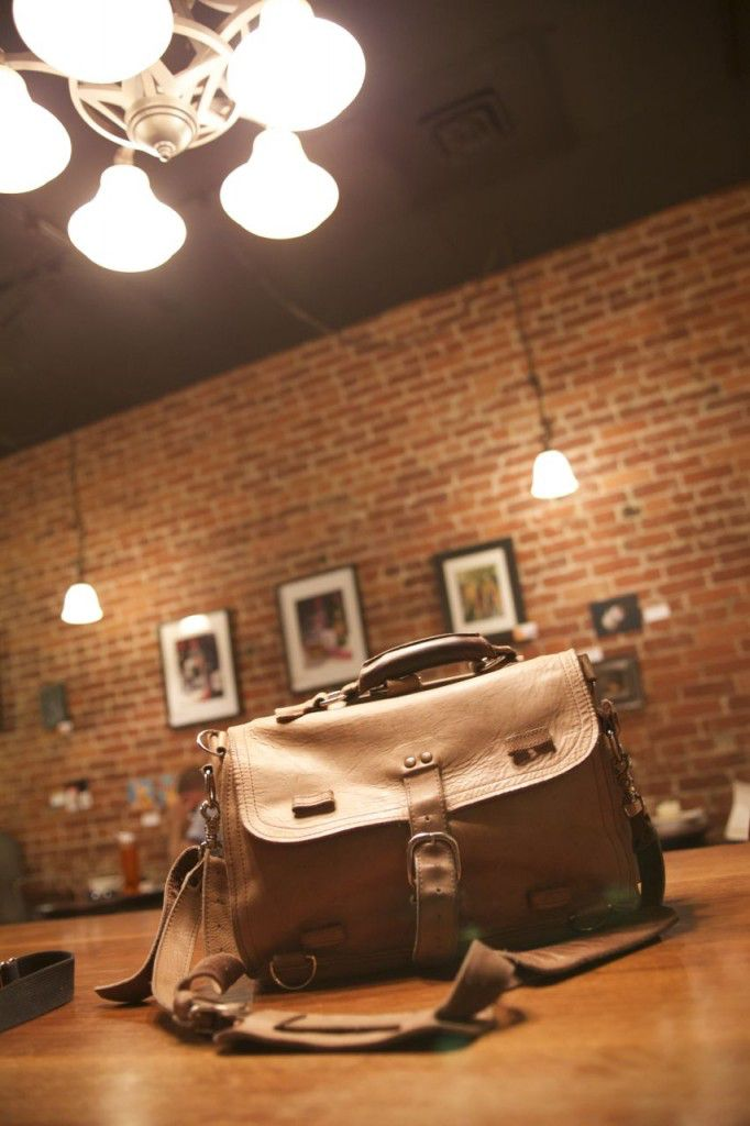Marlondo Leather Thin Briefcase Patina Followup