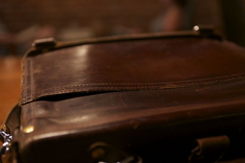 Marlondo Leather Briefcase Patina Review04