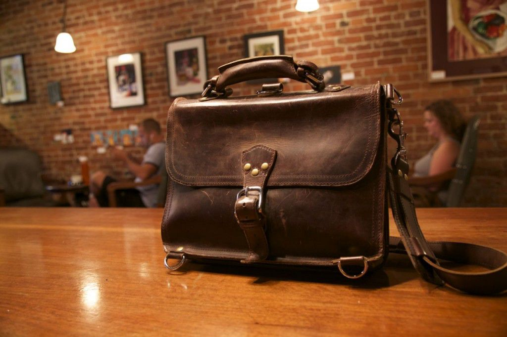 Marlondo Leather Briefcase Patina Review09