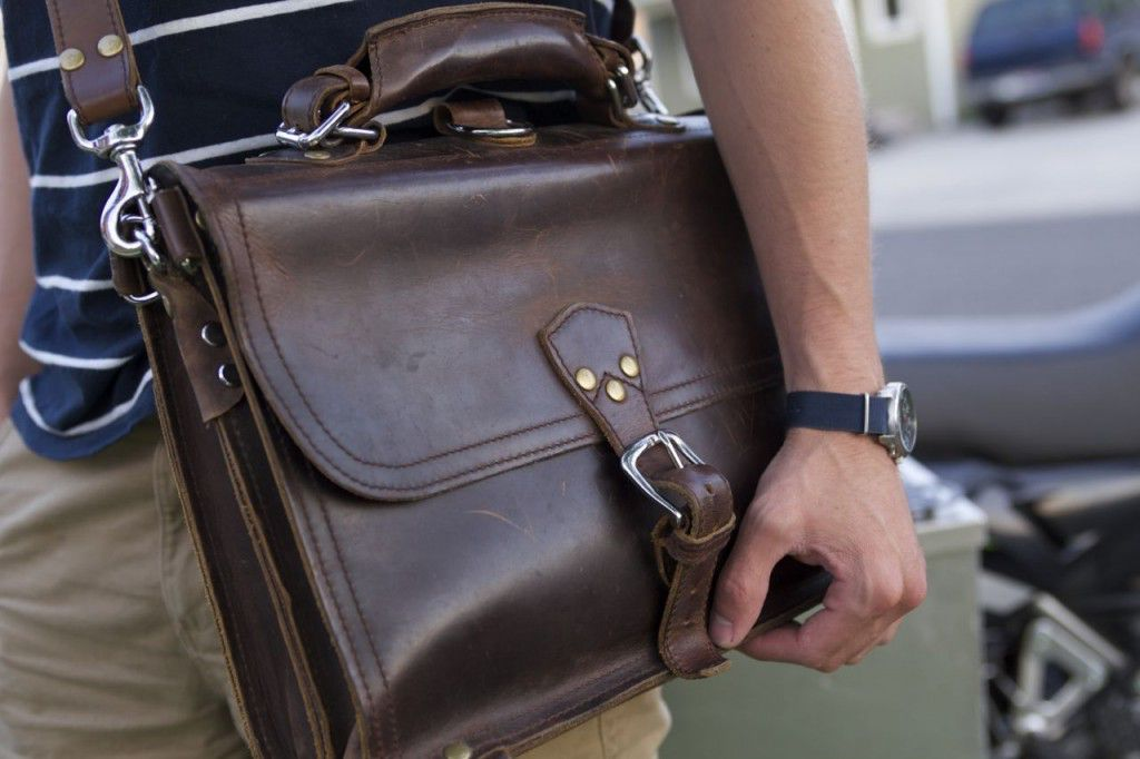 Marlondo Leather Briefcase Patina Review10