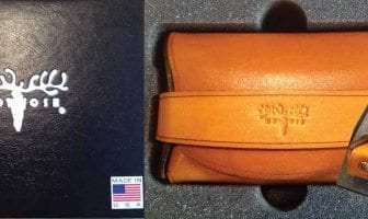 the Palm Wallet by the Leather Shop