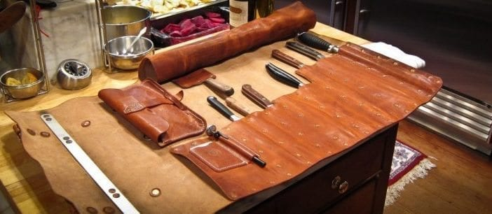 Mascon Leather Custom Leather Chef Knife Roll Review