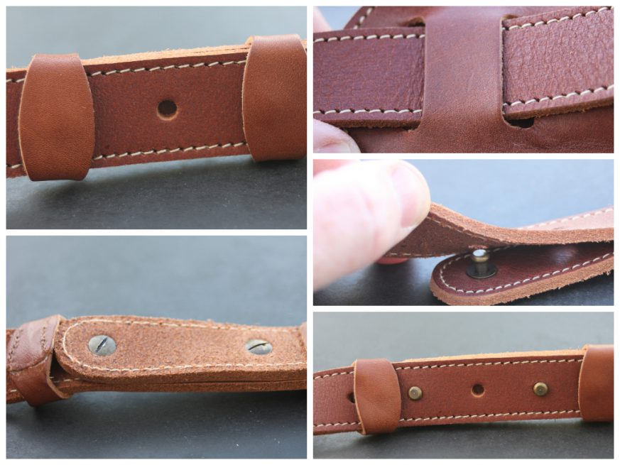 dec1b1b23c71 Pinegrove Leather Vintage Style One Inch Guitar Strap - $77 ...