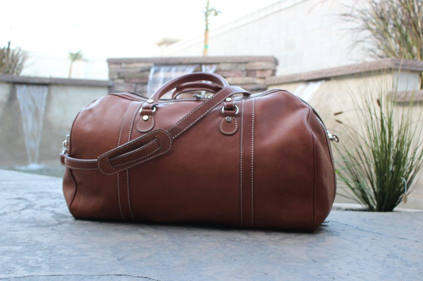 4e58bdb8bd11 Floto Imports Parma Edition Duffle Review -  549 - BestLeather.org
