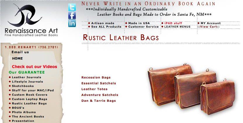 Renaissance Art Bags Ad