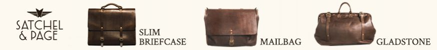 High Quality Leather Products from Satchel & Page