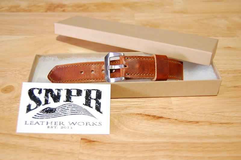 SNPR-Leather-Works-Chestnut-Dublin-Watch-Strap-1